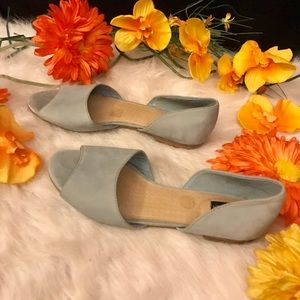 Adam Tucker Pastel Blue Flats